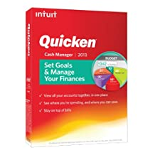 Intuit Quicken Cash Manager 2013 Software (419796)