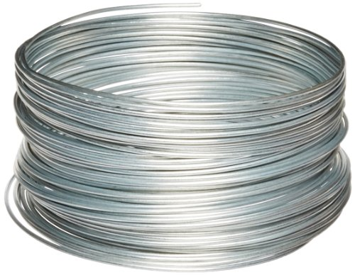 Guy Wire (OOK 50141 12 Gauge, 100ft Steel Galvanized Wire)