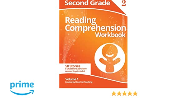 Second Grade Reading Comprehension Workbook: Volume 1: Have Fun ...