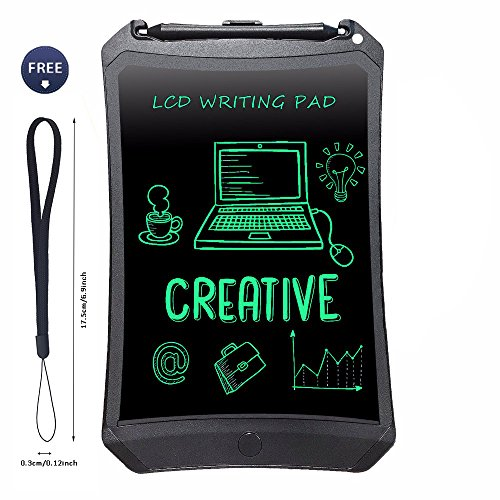 LCD Writing Tablet,Bestobal 8.5 inch Screen Lock Electronic Writing Board,Portable Handwriting Notepad with Stylus for Kids and Adults at Home, School and Work Office (8.5 inch Black)