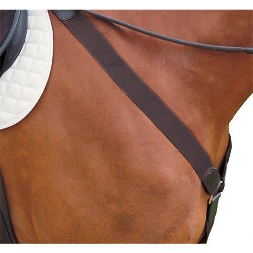 - Kincade Elastic Y-fit Full Breastplate, Brown