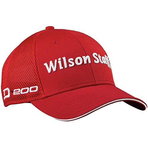 Wilson Tour Hat (Wilson Staff Golf 2016 Tour D200 Mesh Hat Structured Mens Cap - Adjustable)