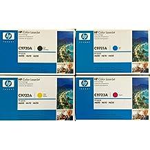 Genuine HP C9720A, C9721A, C9722A, C9723A TONER SET BCYM LJ 4600 4650 Sealed In Retail Packaging