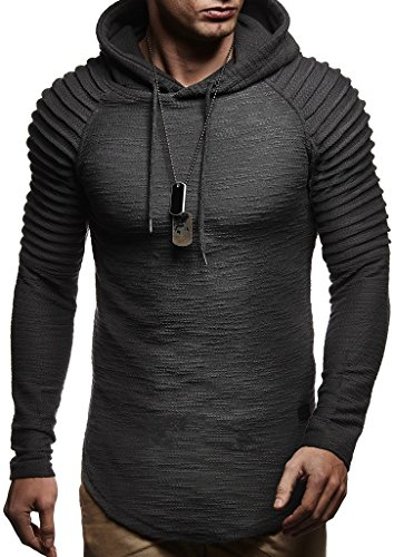 Leif Nelson Mens Pullover Hoodie Long Sleeve t-Shirt Sweater Slim fit Sweatshirt by Leif Nelson (Image #1)