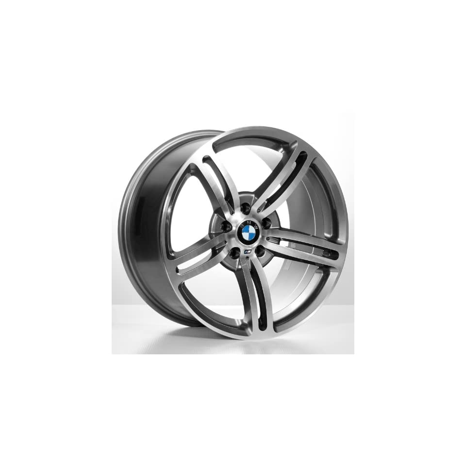 19 M6 Staggered Bmw Wheels & Tires Pkg   Gun Metal Grey Color (4Pcs)