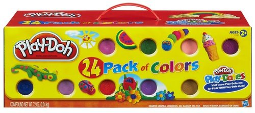 40 opinioni per Hasbro Play-Doh 24 Pack- modeling dough (Any gender)