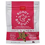 Cloud Star Soft and Chewy Buddy Biscuits, Sweet Potato Flavor, 6-Ounce Pouches (Pack of 4), My Pet Supplies