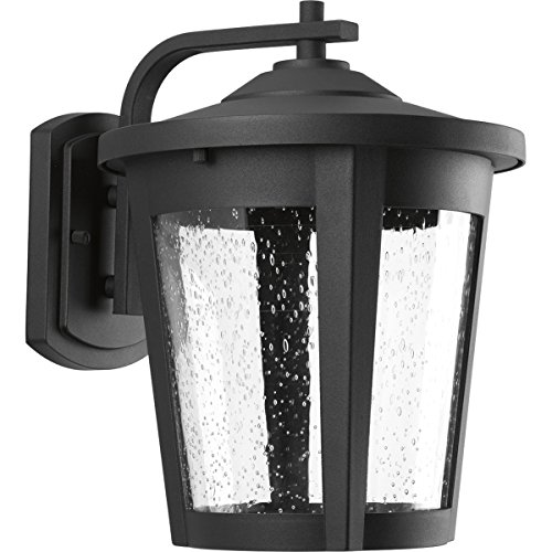 Progress Lighting P6079-3130K9 Contemporary/Soft 1-17W Led Wall Lantern, Black Review
