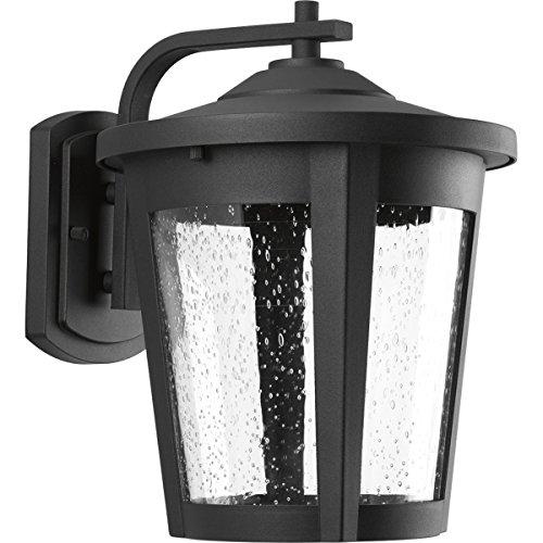Progress Lighting P6079-3130K9 Contemporary/Soft 1-17W Led Wall Lantern, Black