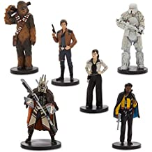 Disney Solo: A Star Wars Story Han Solo Figure Play Set 6 piece