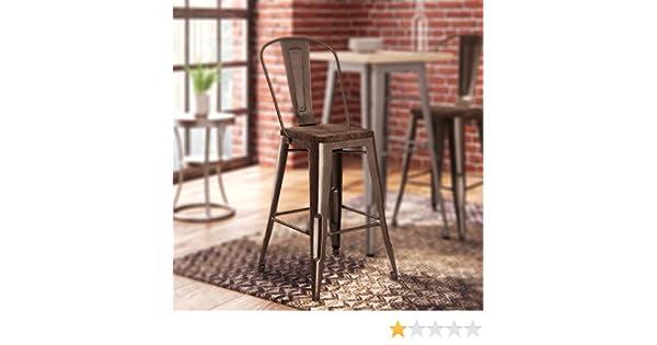 Awesome Amazon Com Fortuna 24 Bar Stool By Trent Austin Design Inzonedesignstudio Interior Chair Design Inzonedesignstudiocom