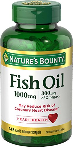 Nature's Bounty Cholesterol Free Fish Oil -- 1000 mg - 135 S