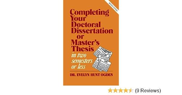 master thesis amazon