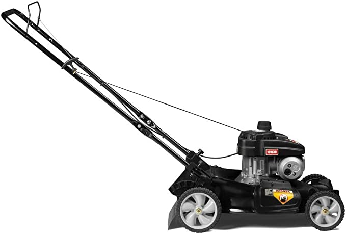 Yard Machines 140cc OHV 21-Inch High Wheeled 2-in-1 Push Walk-Behind Gas Powered Lawn Mower