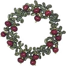 Michael Michaud Retired Cranberry Pin 5962 Retail Price $112