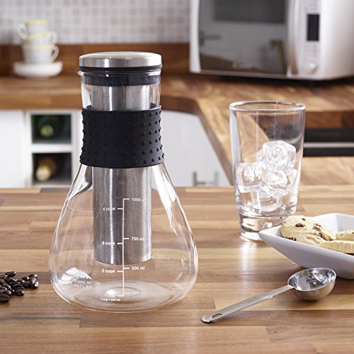 Ice Cold Brew Coffee Maker With Spout 34oz Create