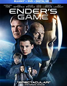 Cover Image for 'Ender's Game (+UltraViolet Digital Copy)'