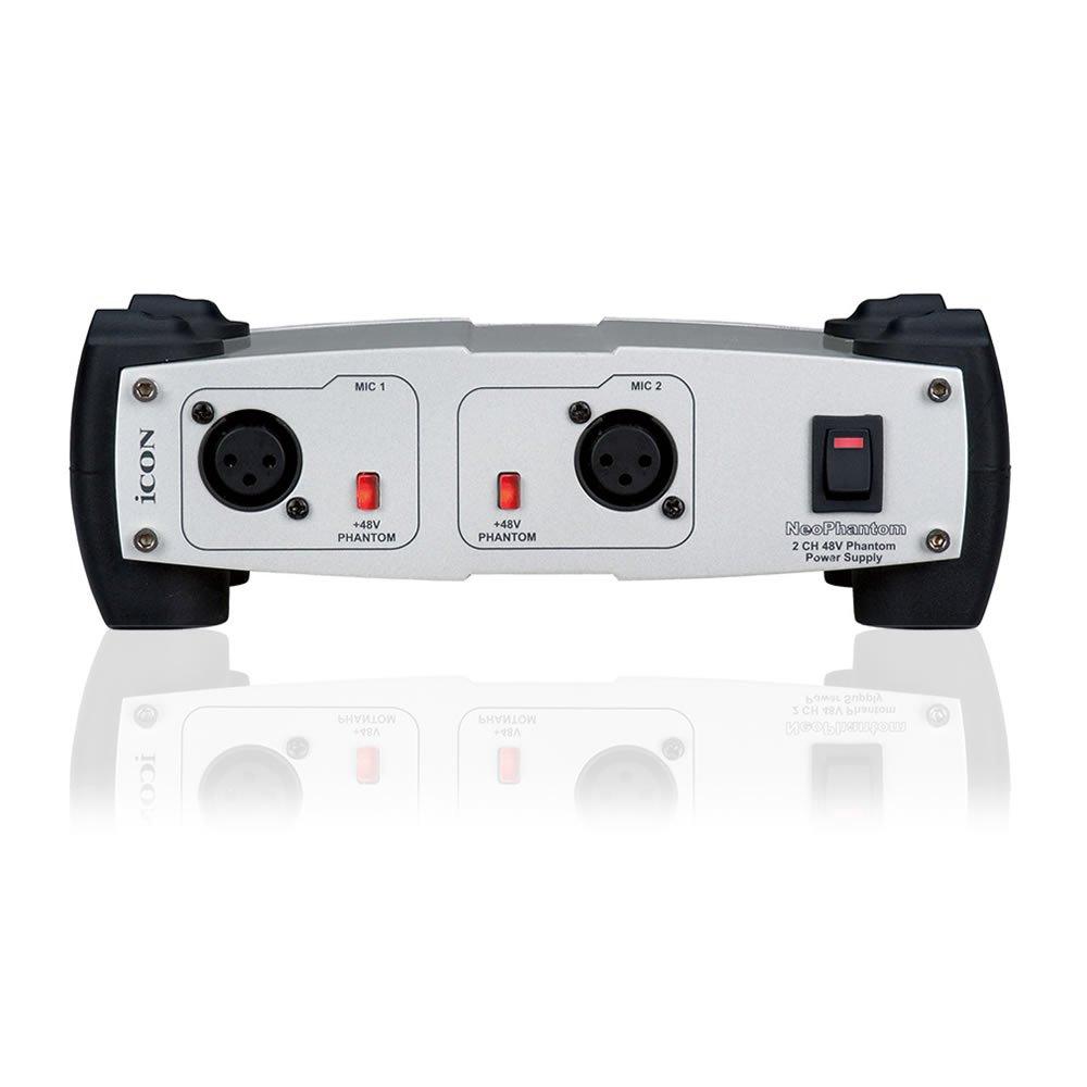 Icon NeoPhantom 2-Channel Phantom Power 48 V 208165