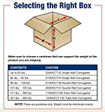 BOX USA Medium Moving Boxes (Pack of 20) for