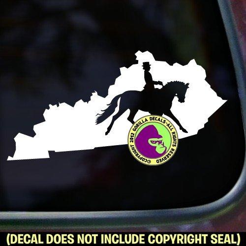KENTUCKY State Dressage Vinyl Decal Sticker D