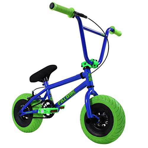 Best Deals! FatBoy Mini BMX Bicycle Freestyle Bike Fat Tires, Blue