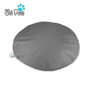 Wet patas | Pequeño y redondo/circular impermeable cama para perro ortopédico de espuma de