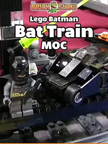 Clip: Lego Batman Bat Train MOC