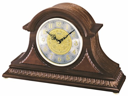 Seiko Mantel Chime Clock with Hand-Rubbed Finish (Staples Glass Desk)