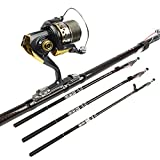 Telescopic Fishing Rod Carbon Fiber Carp Feeder Rod Surf Casting Rod Rock Carbon Spinning Fishing Pole Ultra Light Fishing Stick^.540cm