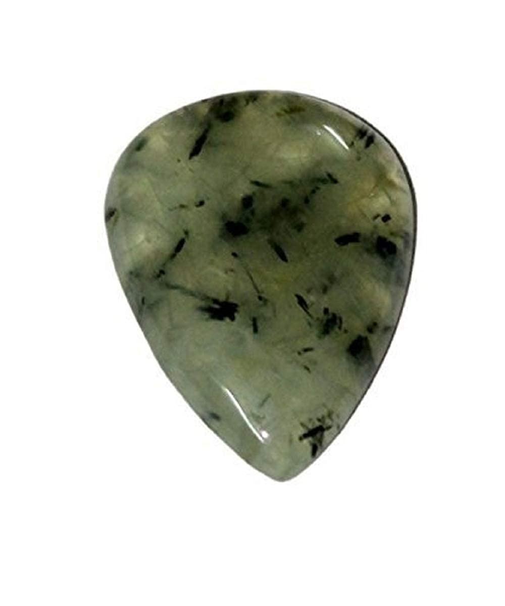 Aatm Reiki Energized Prehnite Cabochon Pebble Stone ''Stone of Prophesy' Aatm Collection GAPC-119