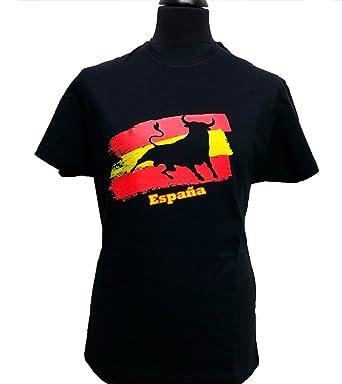 ZiNGS Camiseta Toro y Bandera de España Adulto: Amazon.es: Ropa y accesorios
