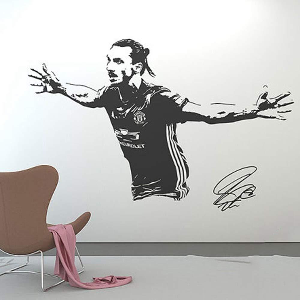 pegatina de pared frases Zlatan Ibrahimovic Tatuajes de Pared ...
