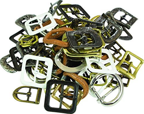 SLC's 100pk of Small Assorted Buckles