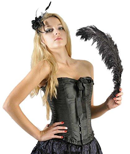Schwarze Corsage Gothic