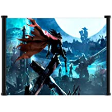 "Final Fantasy VII: Dirge of Cerberus Game Fabric Wall Scroll Poster (21""x16"") Inches"