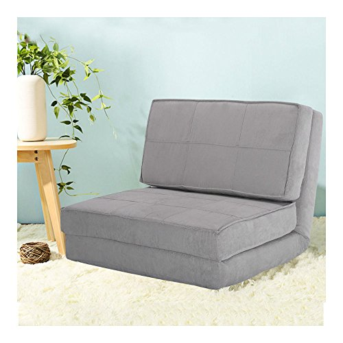 Fold Down Chair Flip Out Lounger Convertible Sleeper Bed Couch Game Dorm Guest from Unknown