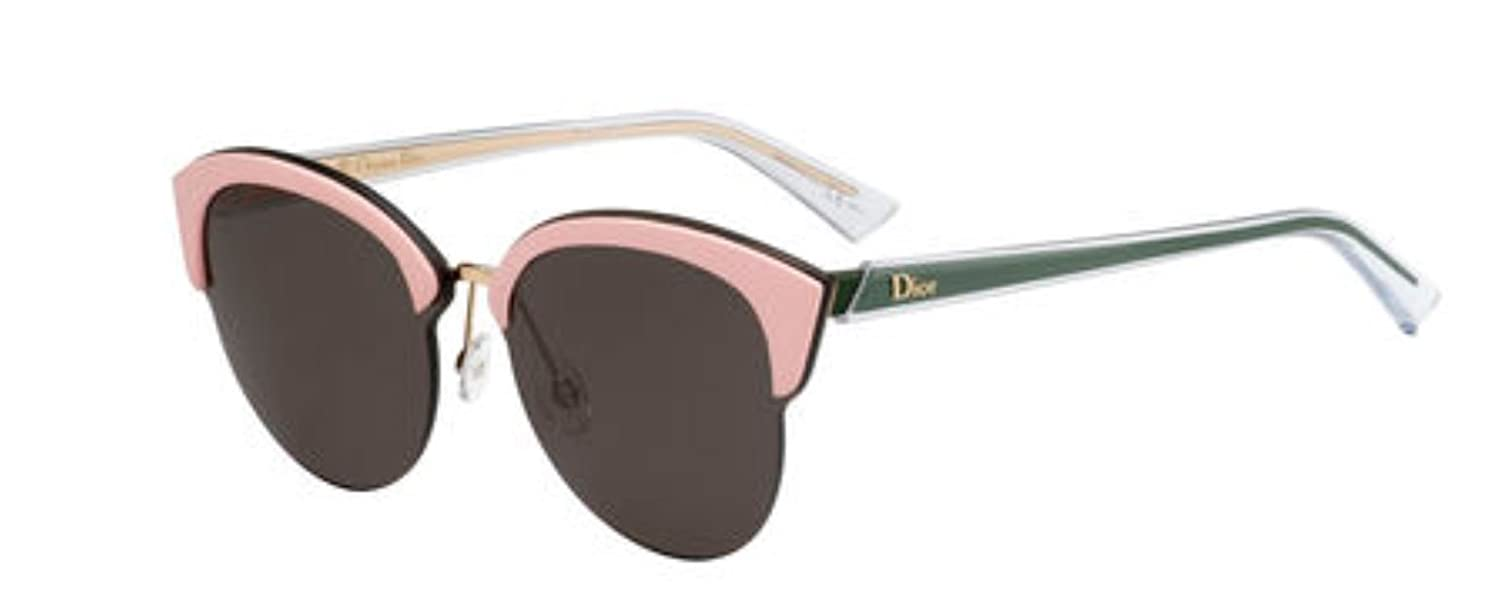 d74c1ed9384 AAuthentic Christian Dior Run S BKL QT Gold Pink Green Sunglasses   Amazon.ca  Clothing   Accessories