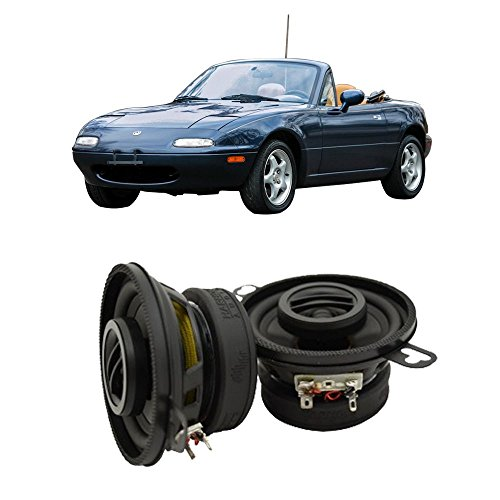 Fits Mazda MX-5 Miata 1990-1997 Rear Headrest Factory Replacement HA-R35 Speakers New -