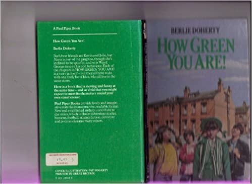 Book How Green You are! (Pied Piper Books)