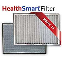 16 1/4 x 21 1/2 x 1 Hinge HealthSmart Air Conditioner Filter with (1) year supply of MicroSponge pads
