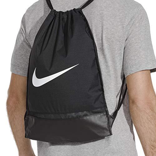 cesar emocional variable  Nike Synthetic 48 cms Black/Black/White Drawstring Gym Bag (BA5338-010):  Amazon.in: Bags, Wallets & Luggage