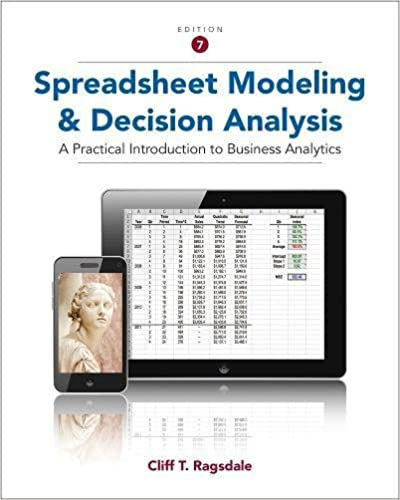 Spreadsheet modeling and decision analysis a practical introduction spreadsheet modeling and decision analysis a practical introduction to business analytics 7th edition fandeluxe Gallery