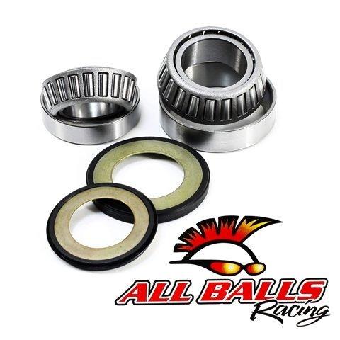 All Balls Steering Bearing & Seal Kit For Various Metric Models: Honda 1977-2011 / Triumph 2001-2011 - ()