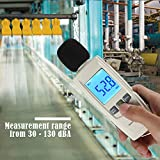 Decibel Meter Sound Level Reader by LotFancy, DB