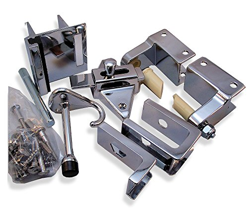 Inswing Door Hardware Repair Pak - For 7/8'' Restroom Partition Door & 1-1/4'' Pilaster by Young's Catalog