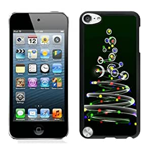 Diy Design Beautiful Christmas tree Black iPod Touch 5 Case 1