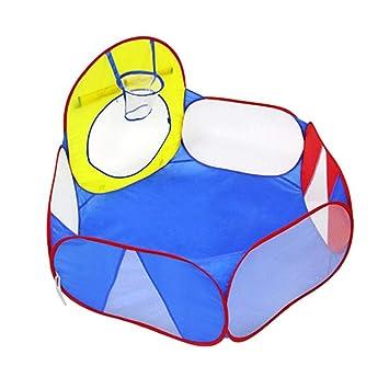 Cartoon Ocean Ball Basketball Pool Folding Child Indoor Tent for Kids Play Ball Pits u0026 Accessories - Amazon Canada  sc 1 st  Amazon.ca & Cartoon Ocean Ball Basketball Pool Folding Child Indoor Tent for ...