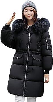 GOG Abrigo largo de invierno acolchado para mujer Abrigo de ...