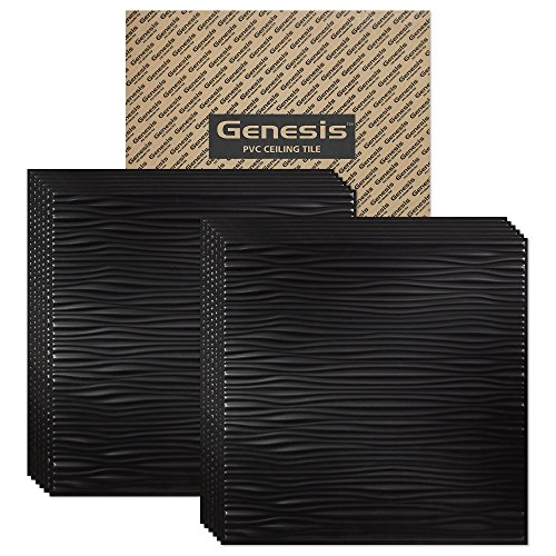 Genesis Drifts Black Ceiling carton product image