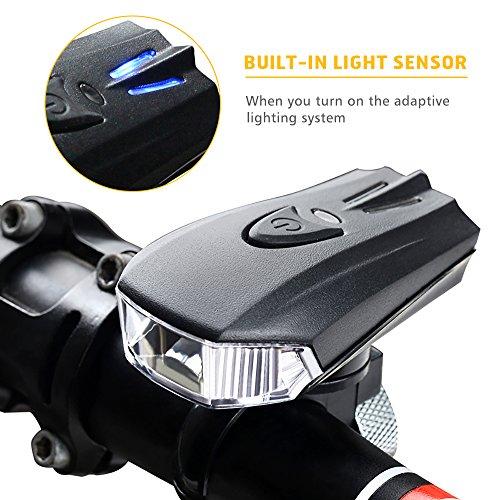 Super Bright USB Chargeable Bike Headlight,GO PAL POWERFUL ...